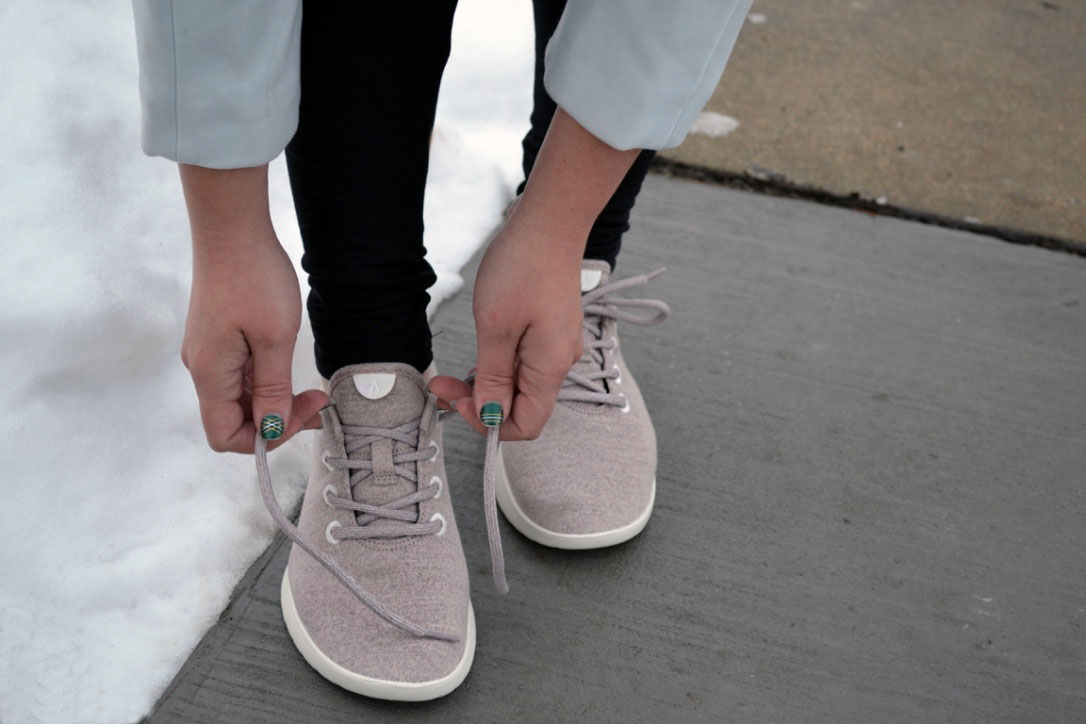 9ea6164603145c Allbirds is! Their carbon footprint is 60% less than your average shoe and  their shipper doubles as the shoebox which is also super eco-friendly.